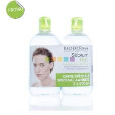 Bioderma Sébium/Sensibio H2O Micellaire Oplossing 2x500ml 贝德玛 净妍控油/防敏 卸妆水 2x500ml