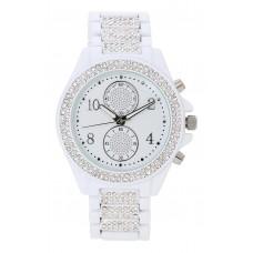 BIJOU & RIGITTE Watch - White Crystals