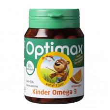 Optimax Kinder omega3 kauwtabletten 50stuks  小熊系列儿童DHA鱼油 50粒  (1岁及以上)