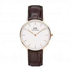 Daniel Wellington - Classic York - 36mm - Rose Goud DW00100038 丹尼尔 惠灵顿经典约克玫瑰金手表