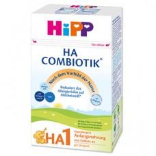 HiPP HA1 Combiotik 500g 德国喜宝有机半水解奶粉1段 500g(4-6月)