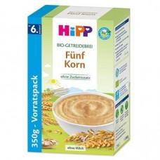 HiPP Bio-Getreidebrei 5-Korn 350g 德国喜宝有机谷物米粉 350g (6个月及以上)
