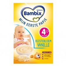 Bambix Rijstebloem vanille米糊香草味(4-6月) 200g
