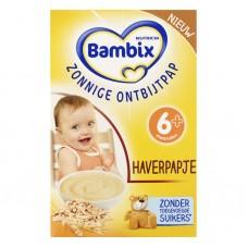Bambix Zonnige Ontbijtpap Haverpapje阳光燕麦早餐米糊 (6月及以上) 200g