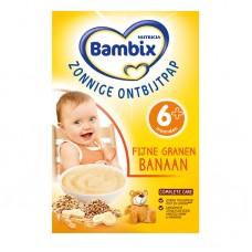 Bambix Fijne granen banaan Bambix 营养米糊香蕉味(6月+) 200g