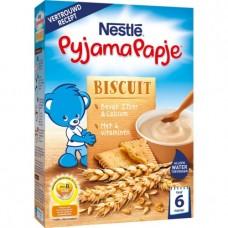 NESTLÉ PyjamaPapje® Biscuit雀巢小麦营养米糊饼干(6月+)250g