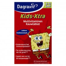 Dagravit 幼儿复合维生素片含益生菌6-12岁 60粒