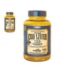 De Tuinen Cod Liver Oil 1000mg 花园鳕鱼鱼油 120粒