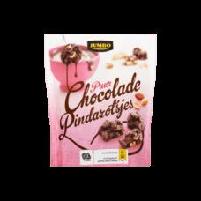 Jumbo Puur Chocolade Pindarotsjes 150g