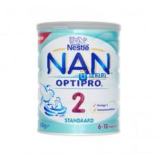 荷兰雀巢能恩NAN® OPTIPRO®标准配方婴儿奶粉2段(6-10月)800g