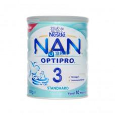 荷兰雀巢能恩NAN® OPTIPRO®标准配方婴儿奶粉3段(10月及以上)800g