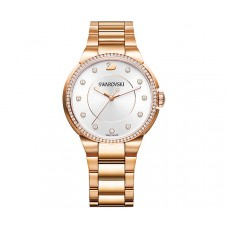 Swarovski City Rose Gold Tone Bracelet Watch 5181642 施华洛世奇玫瑰金手表