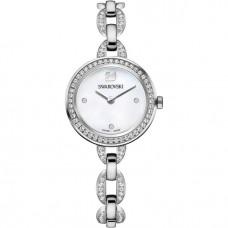 Swarovski Aila Mini Silver tone Metal bracelet Watch 5253332 施华洛世奇Aila Mini 银色金属手链腕表 5253332