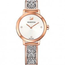 Swarovski Cosmic Rock Watch, Metal bracelet, White, Rose gold tone 5376092 施华洛世奇玫瑰金白色金属手链腕表 5376092
