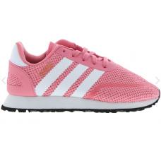 adidas N-5923 - 阿迪达斯 儿童浅粉色运动鞋5923